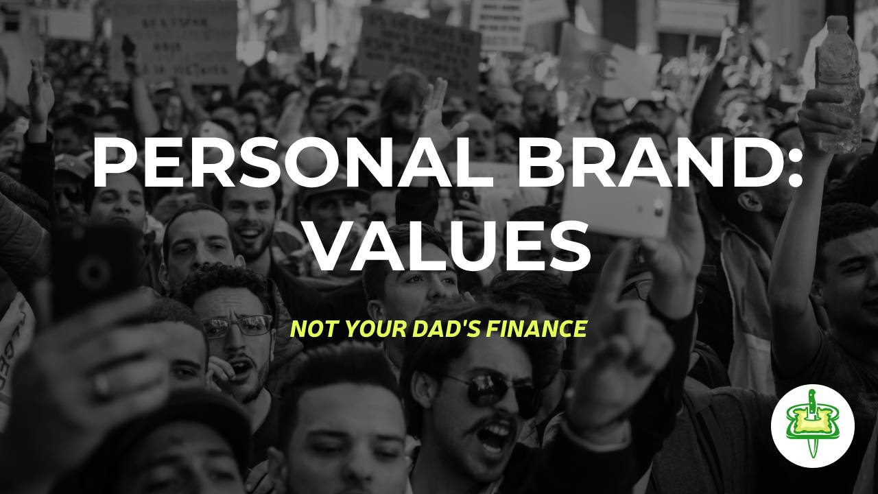 PERSONAL BRAND: VALUES