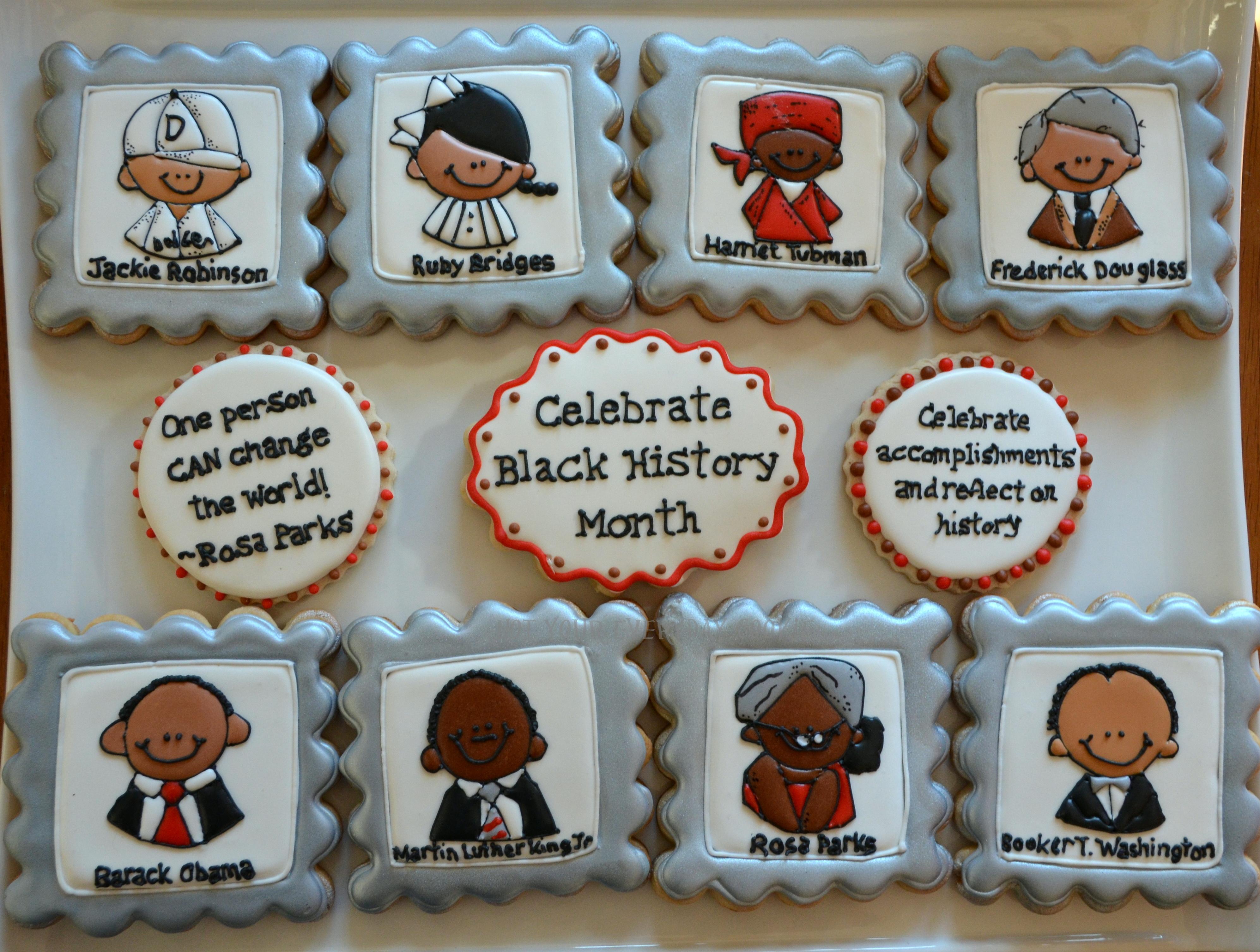 Black History Month Cookies