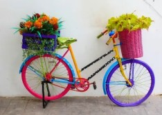 picture of bright bicycle