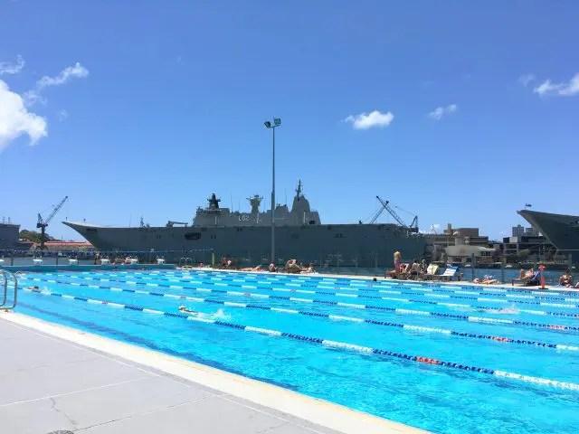 Andrew Boy Charlton Pool Sydney