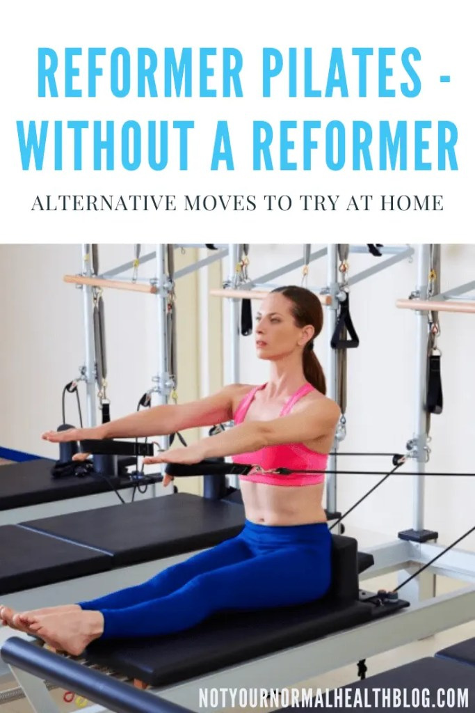 pin on alternatives to reformer pilates moves to do at home
