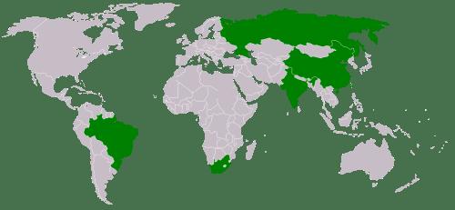 BRICS map