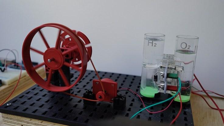 waterstofbatterij