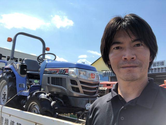 富士市 イセキトラクターTH253の買取事例