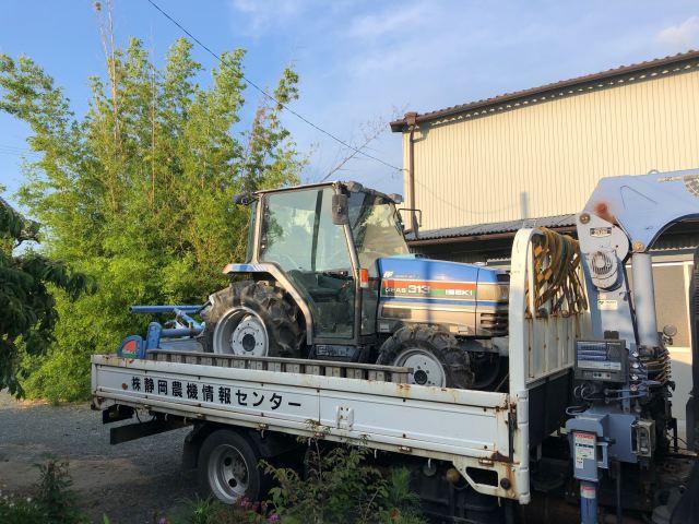 浜松市 イセキ TG313キャビン付 買取事例