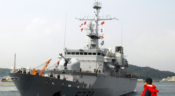 LE « VENDÉMIAIRE » INTERCEPTÉ PAR LA MARINE CHINOISE – INCIDENT ENTRE LA FRANCE ET LA CHINE