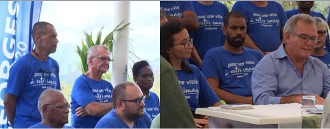 DUMBÉA : des nouveaux visages aux côtés du maire sortant