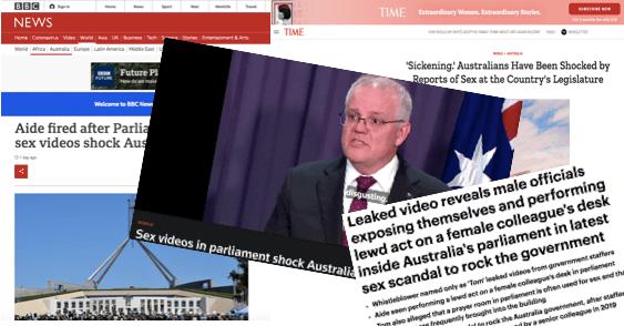 SCANDALE SEXUEL AU PARLEMENT AUSTRALIEN