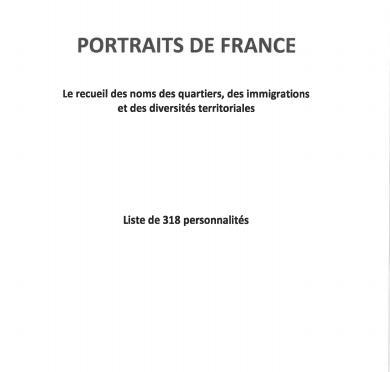 UNE LISTE DE 318 PERSONNALITÉS QUE MACRON SUGGÈRE D'HONORER
