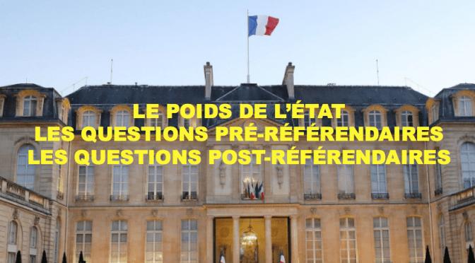 L'ÉTAT, INCONTOURNABLE, INVITE LES POLITIQUES CALÉDONIENS À PARIS