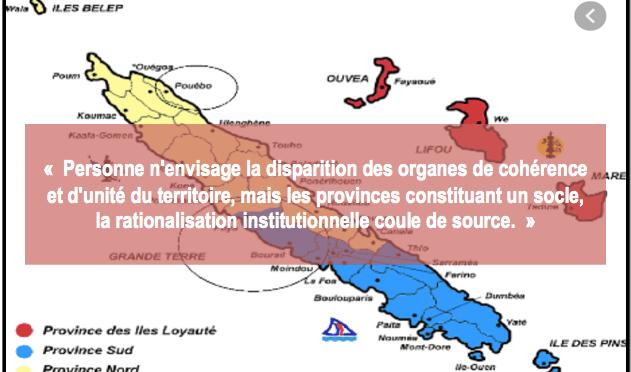 ÉVOLUTION INSTITUTIONNELLE : POURQUOI LES PROVINCES ONT LA COTE