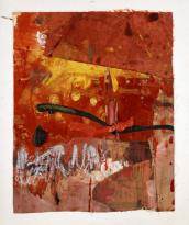 robert-rauschenberg-untitle-red-painting