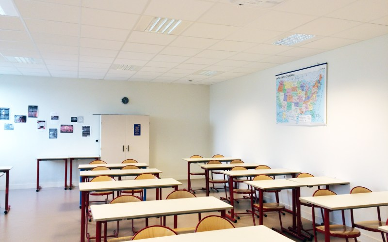 classroom in France