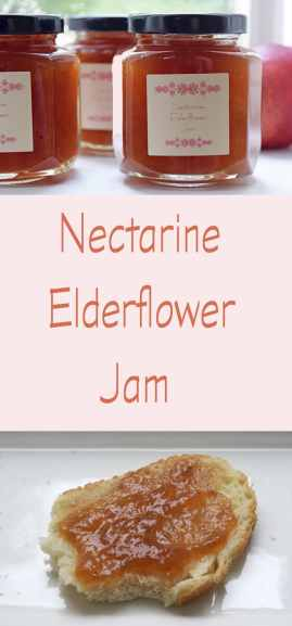 A recipe for nectarine elderflower jam including the steps to safely water-bath can and preserve it. Lists of favorite canning and preserving books.