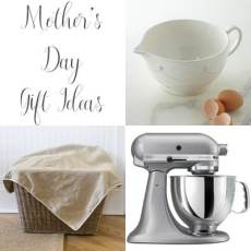 Mother's Day Gift Ideas, both store bought and DIY gift ideas