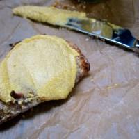 {Falling} Cranberry Walnut Bread with Pumpkin Cream Cheese (Gluten-free & Vegan!)