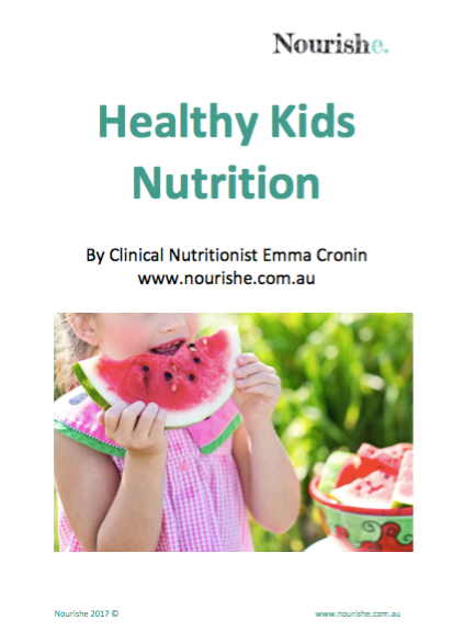 healthy kids nutrition