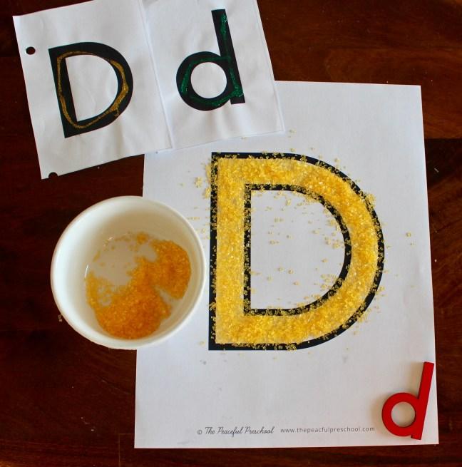 Letter D Preschool Unit