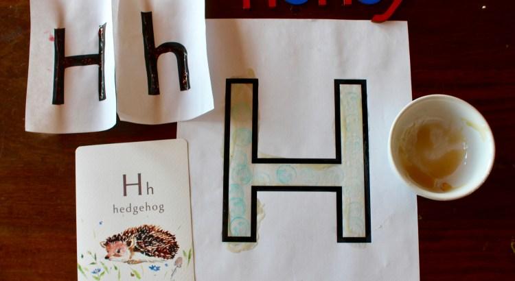 letter H preschool unit