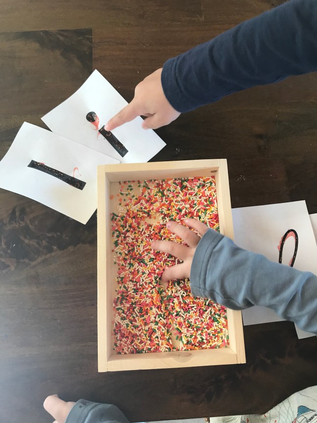 Sprinkles Writing
