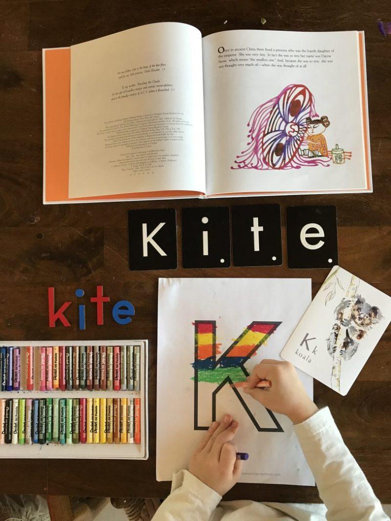 Letter K preschool
