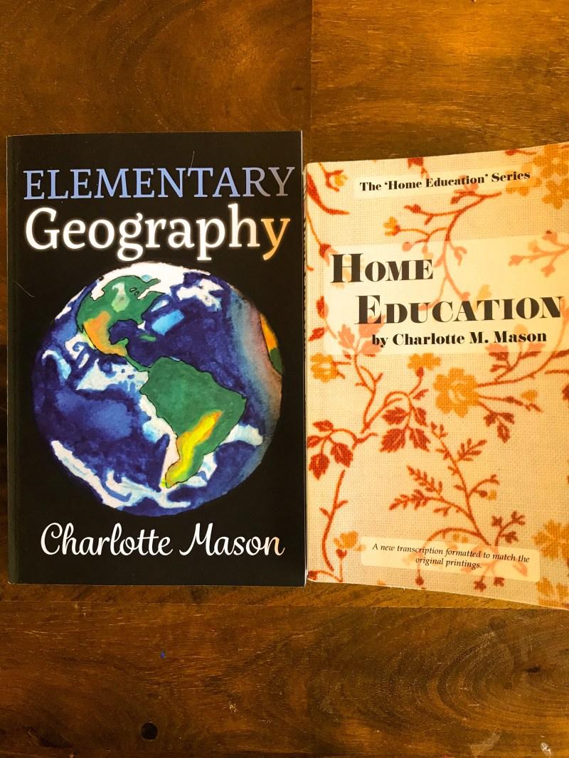 A Charlotte Mason Geography Lesson