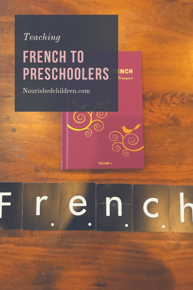 French with Preschoolers
