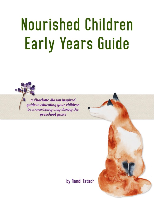 Nourished Children Early Years Guide