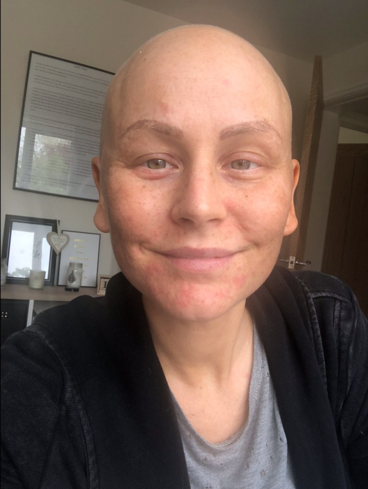 Mask Off Armour off : Life through chemotherapy and after