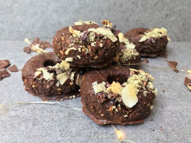 Coconut and Cacao Donuts