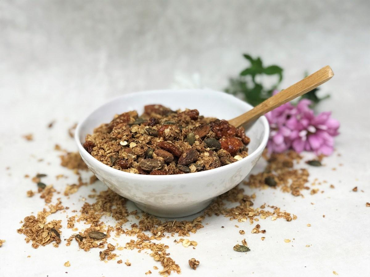 Pistachio Pumpkin Seed and Goldenberry Granola