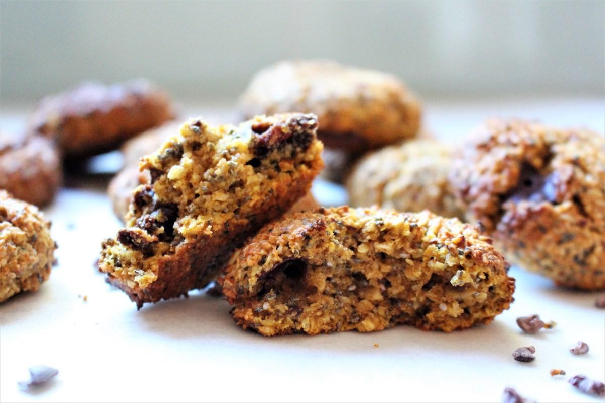 Pumpkin Cinnamon Spiced Breakfast Cookies