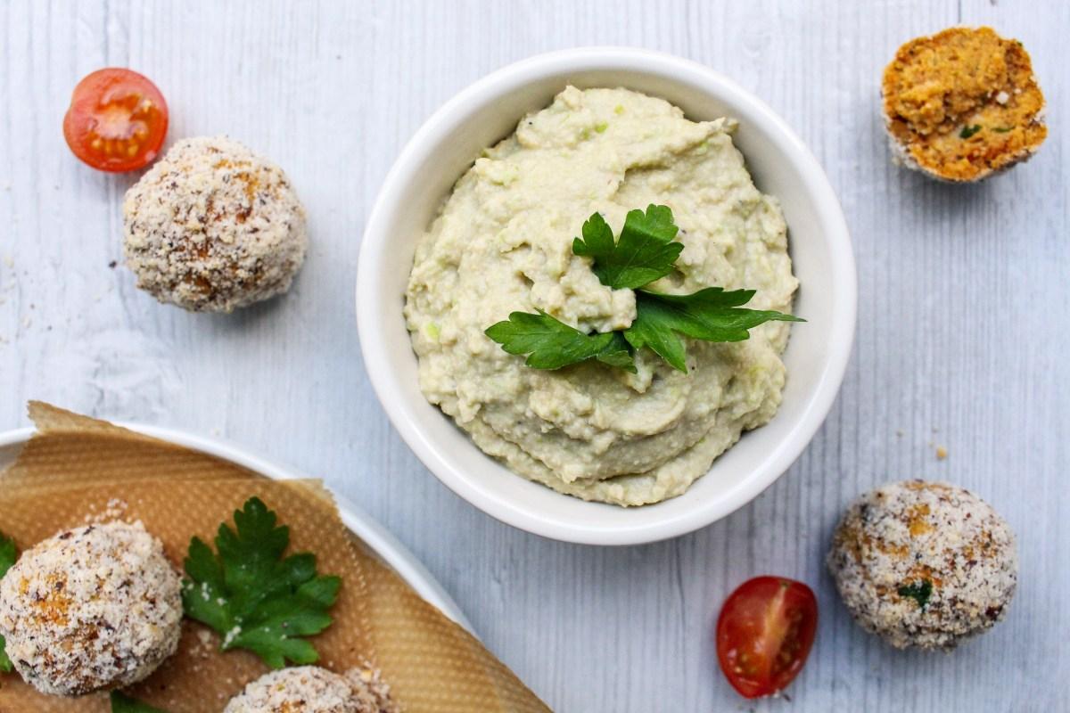 Edamame and Artichoke Hummus