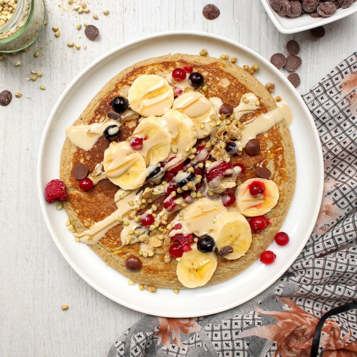 Giant Protein Pancake