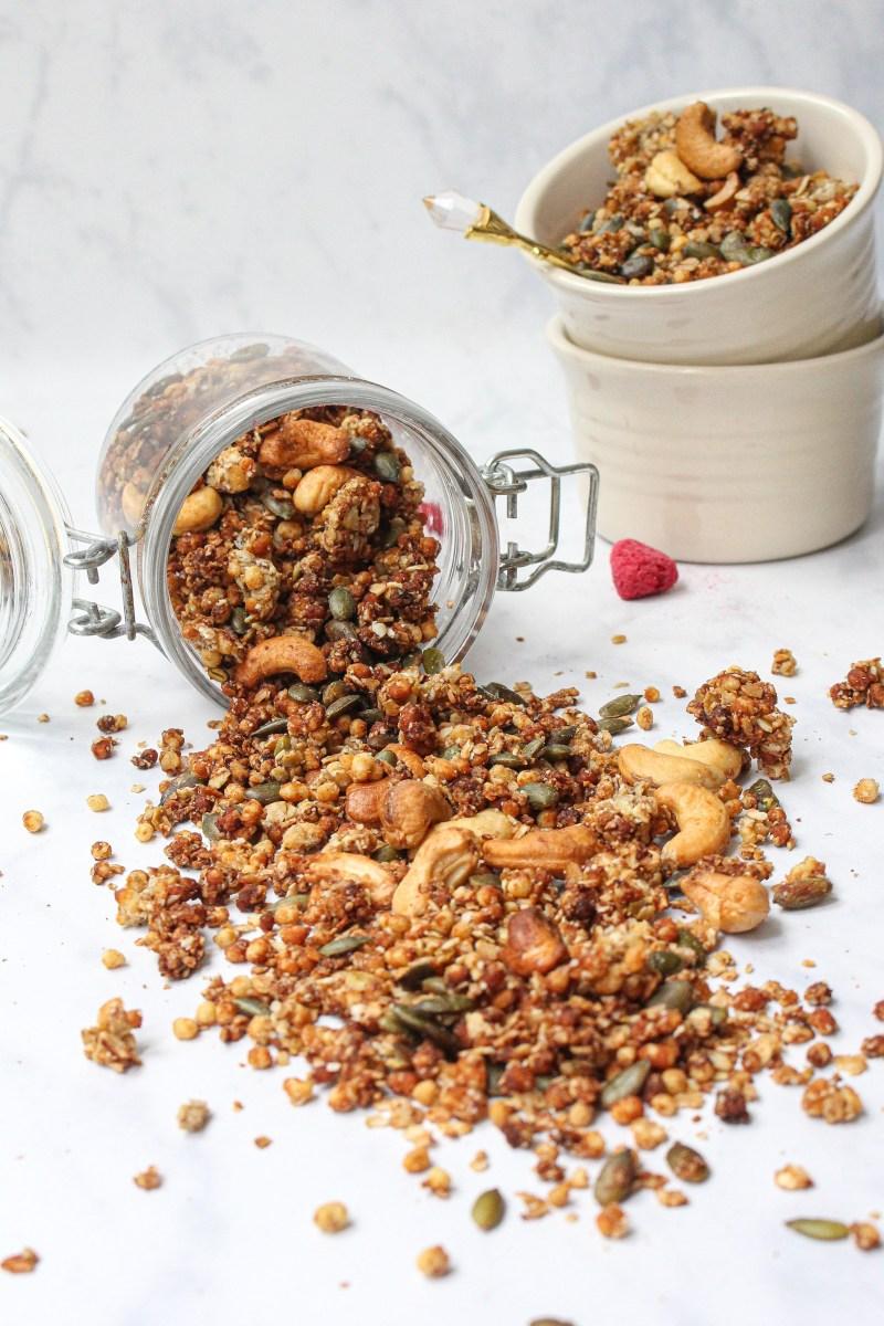 Vanilla Banana Nut Protein Granola