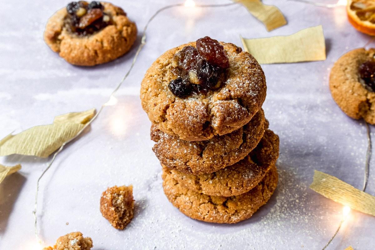 Mince Pie Thumbprint Cookies