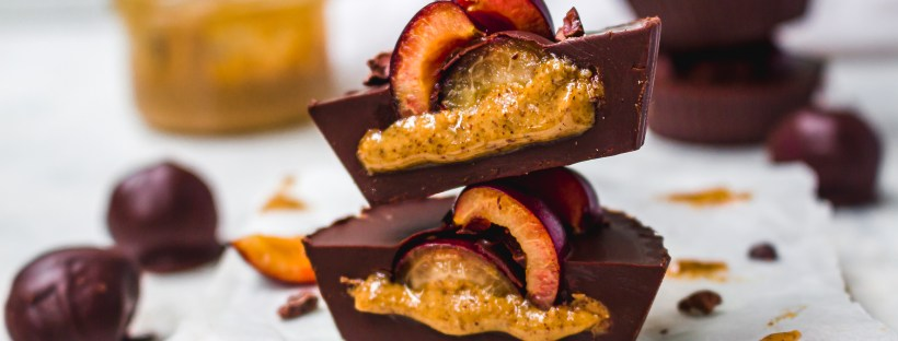 Chocolate Cherry Almond Butter Cups