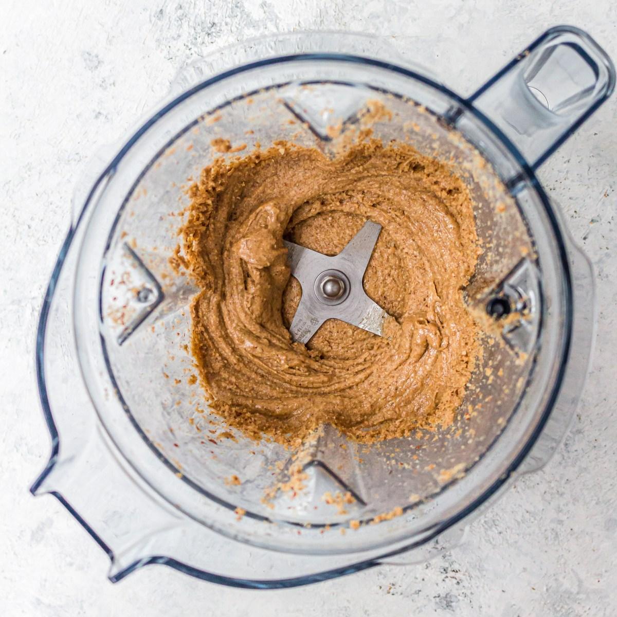 Homemade Mocha Almond Butter