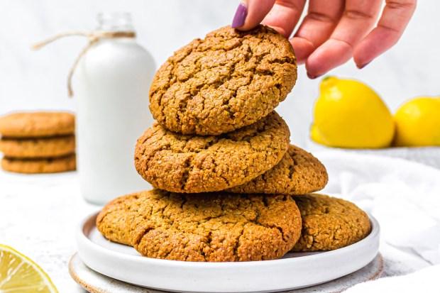 Lemon and Coconut Sugar Cookies