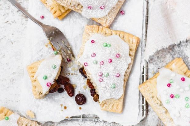Mince Pie Pop Tarts (Vegan)