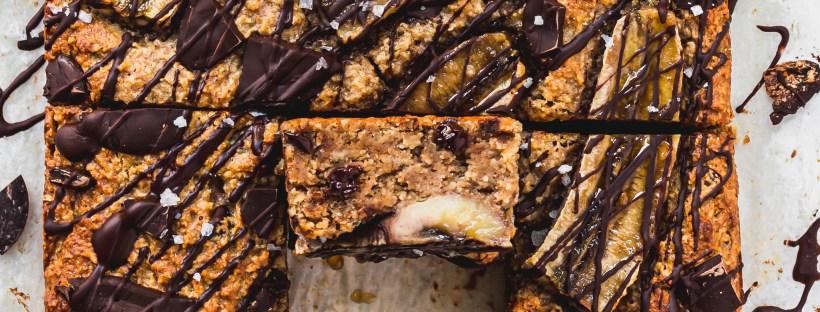 Banana Chocolate Chip Blondies