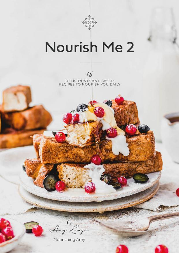 Nourish Me 2 Front Cover | nourishingamy.com