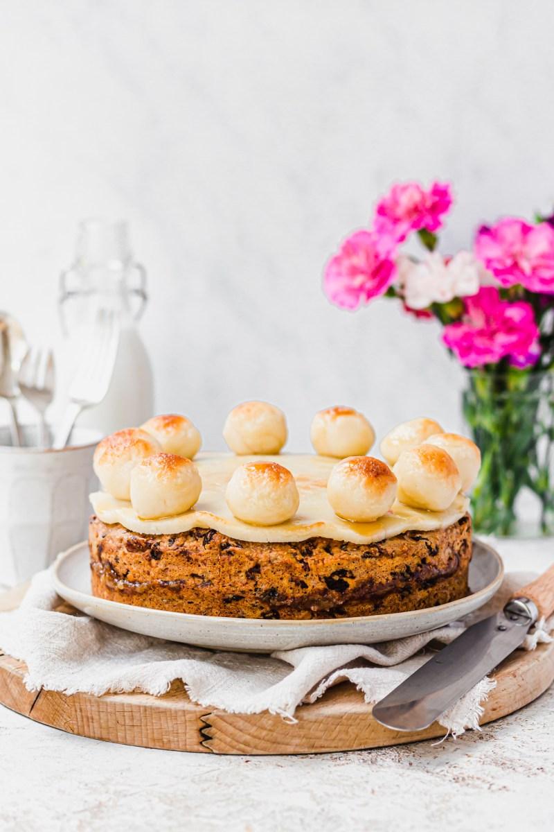 Vegan Maple Simnel Cake