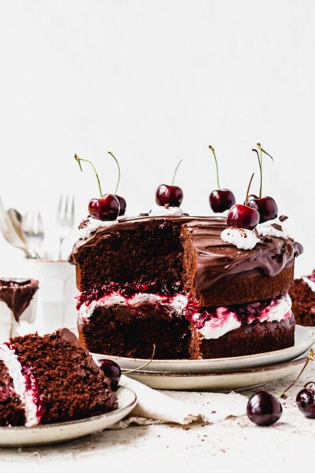 Vegan Black Forest Cake