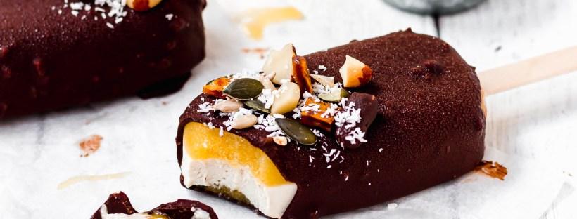 Chocolate Mango Magnum Ice Creams