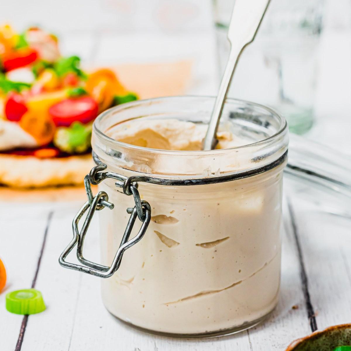 Easy Vegan Homemade Cashew Cheese