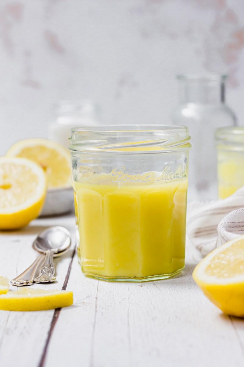 Easy Vegan Lemon Curd