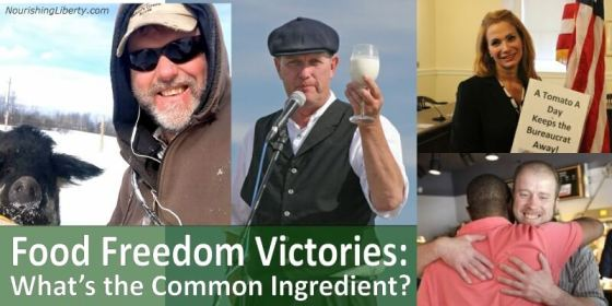 Mark Baker and other Food Freedom Victories: What is the Common Ingredient?