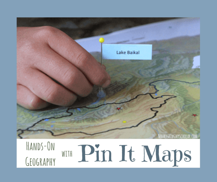 Hands On Geography with Pin It Maps   Nourishing My Scholar