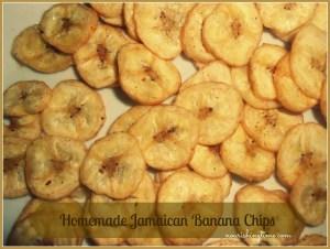 Homemade Jamaican Banana Chips
